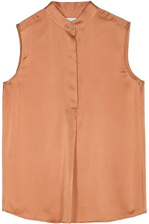 Equipment Women's Therese Sleeveless Silk Tunic - Sunburn - Size XS