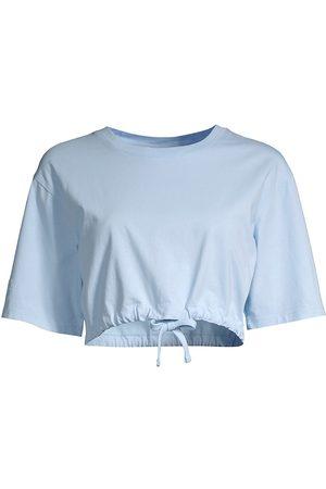 Les Girls Les Boys Women T-shirts - Women's Jersey Cropped T-Shirt - - Size Large