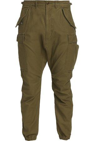 R13 Men Cargo Pants - Men's Military Cargo Pants - Olive - Size 33
