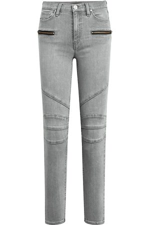 Hudson Women High Waisted - Women's Barbara High-Rise Skinny Ankle Jeans - Cloudy Sky - Size 27