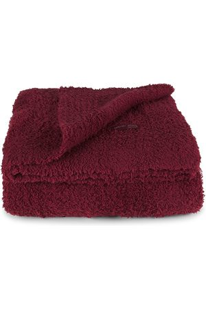 Barefoot Dreams Socks - Cozy Chic Throw - Cranberry