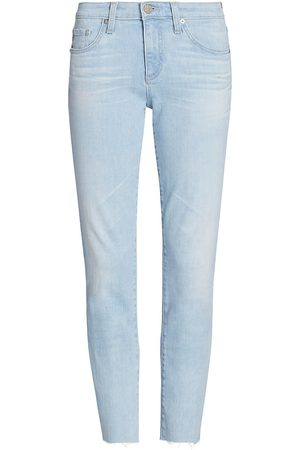AG Jeans Women Pants - Women's Prima Cropped Cigarette Jeans - 27 Years Panaroma - Size 27