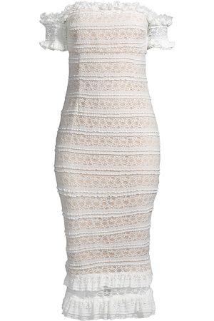 LIKELY Women Strapless Dresses - Women's Milaro Off-the-Shoulder Dress - Ivory - Size 12