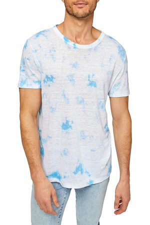 7 for all Mankind Short-Sleeve Tie-Dye T-Shirt