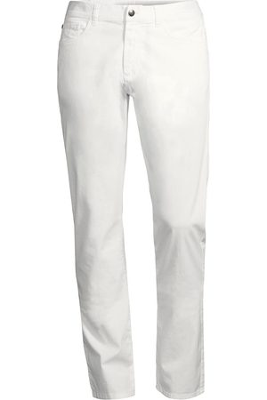 CANALI Men's Regular-Fit Micro Twill Comfort Stretch Pants - - Size 38