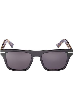 Cutler and Gross Men Square - Men's 54MM Square Sunglasses - Camouflage