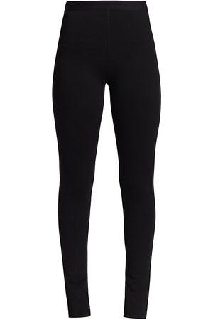 3.1 Phillip Lim Women Leggings - Women's Novelty Jersey Zip Leggings - - Size 6