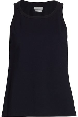 Deveaux New York Women Tank Tops - Women's Paula Tank Top - Navy - Size XS
