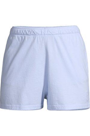 Les Girls Les Boys Women Shorts - Women's Jersey Cotton Shorts - - Size Medium