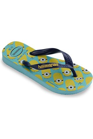 Havaianas Kid's Minion Flip Flops - Navy - Size 2 (Child)