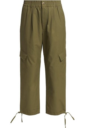 Deveaux New York Women's Viola Cargo Pants - Olive - Size 0