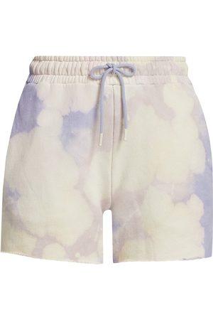 Cotton Citizen Women's Brooklyn Tie-Dye Shorts - Lilac Blast - Size Large