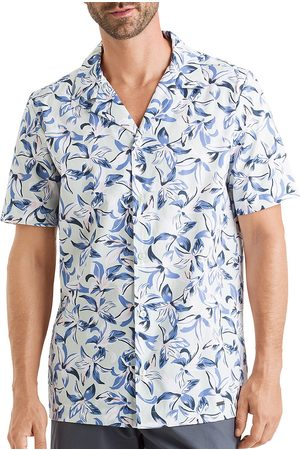 Hanro Men's Short-Sleeve Hawaii Printed Shirt - Hawaii Print - Size XXL