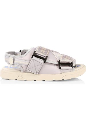 Kappa Men Sandals - Men's Logo Sport Sandals - Grey - Size 12