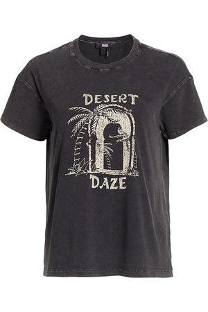 Paige Women's Desert Graphic Ryo T-Shirt - - Size XS
