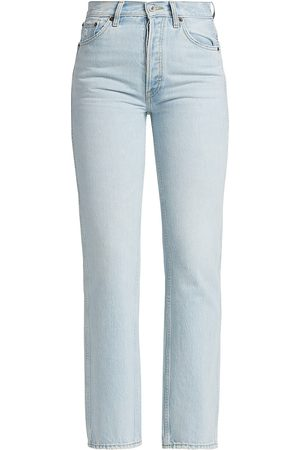 RE/DONE Women's 90S High-Rise Loose Jeans - Perfect Light Indigo - Size 32
