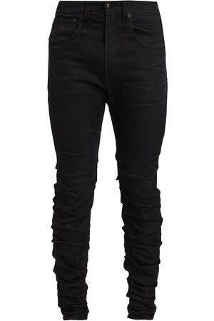 R13 Men's Skywalker Gathered Skinny Jeans - - Size 36
