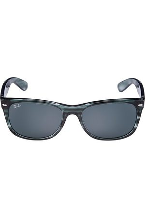 Ray-Ban Men's RB2132 58MM Round Sunglasses - Striped