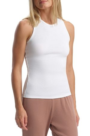 Commando Women's Luxury Rib Tank Top - - Size Large