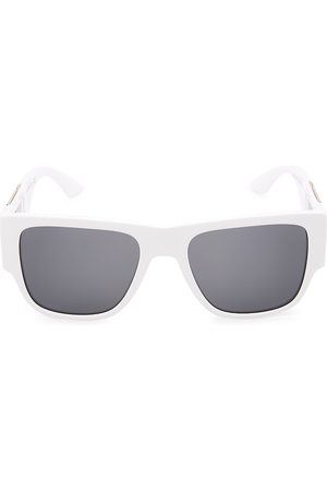 VERSACE 58MM Square Pilot Sunglasses