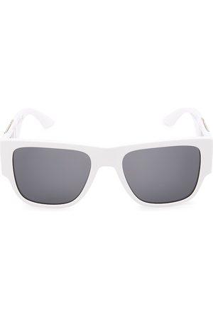 VERSACE Men's 58MM Square Pilot Sunglasses