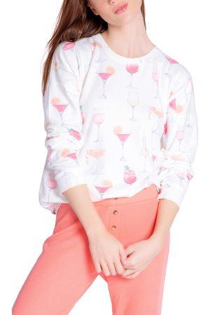 P.J.Salvage Women Long sleeves - Women's Long Sleeve Jersey Sleep Shirt