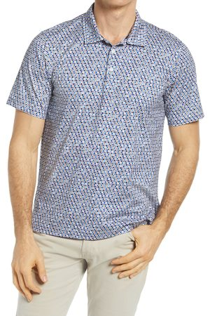 Bugatchi Men's Ooohcotton Tech Abstract Stretch Polo
