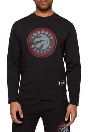 HUGO BOSS Men's X Nba Men's Toronto Raptors Logo Sweatshirt