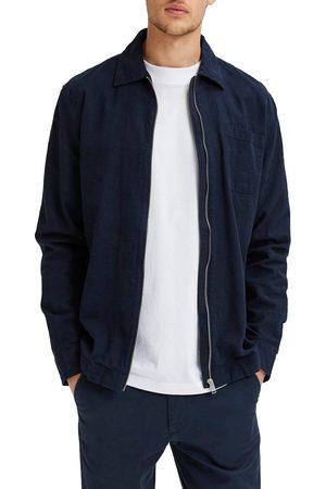 Selected Men Shirts - Men's Dayton Linen & Organic Cotton Shirt Jacket