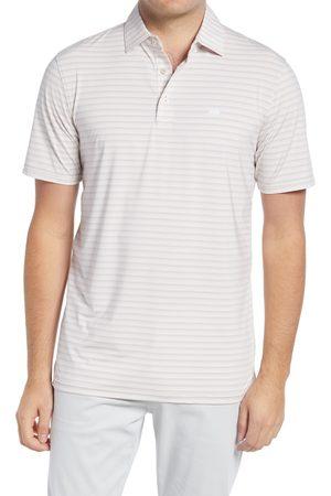 Southern Tide Men Polo Shirts - Men's Brrr? Stripe Short Sleeve Performance Polo
