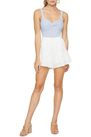 Lost + Wander Women's Middle Of Nowhere Eyelet Shorts
