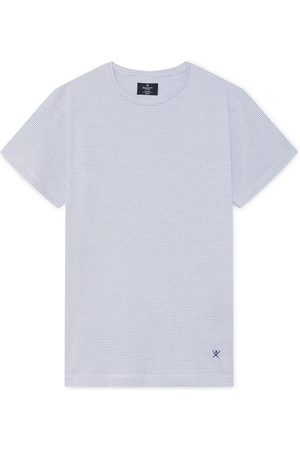 Hackett Fine Stripe L White /