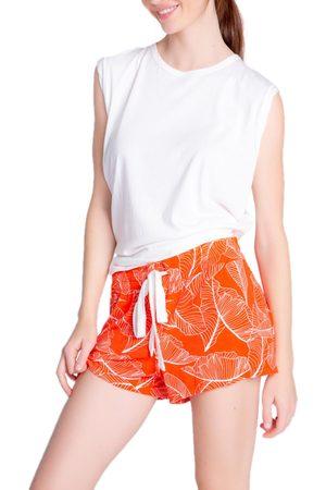 P.J.Salvage Women Pajamas - Women's Leaf Dreams Jersey Pajama Shorts