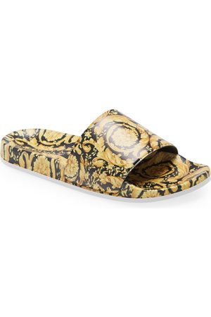 VERSACE Toddler Kids' Barocco Slide Sandal