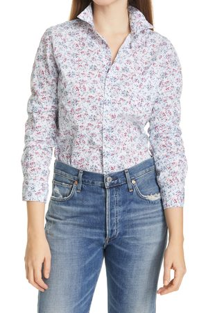 FRANK & EILEEN Women's Barry Floral Button-Up Shirt