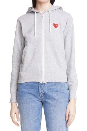 Comme des Garçons Women's Play Heart Graphic Hoodie