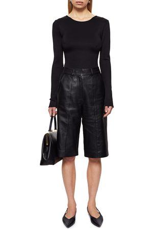 ANINE BING Women's Lane Scoop Back Bodysuit