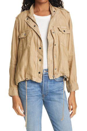 Rails Women's Collins Linen Blend Utility Jacket