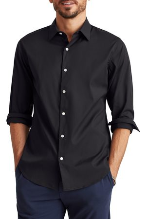 BONOBOS Men's Slim Fit Tech Button-Up Shirt