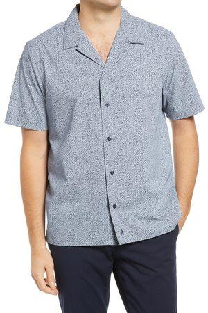 Johnnie-o Men's Ronan Short Sleeve Button-Up Performance Camp Shirt
