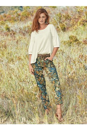 Peruvian Connection Nikki Cropped Trousers