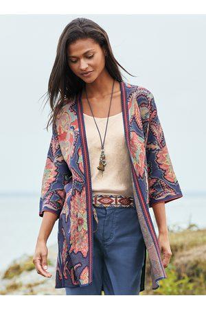 Peruvian Connection Kagami Pima Cotton Kimono