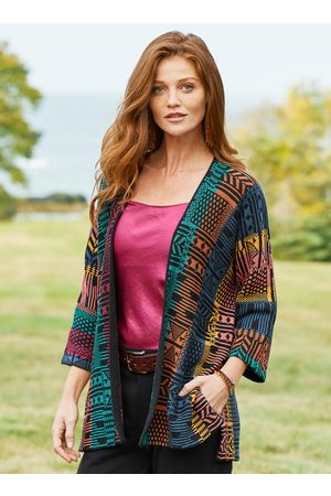 Peruvian Connection Asoke Pima Cotton Cardigan