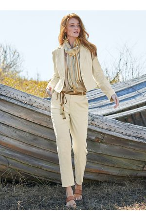 Peruvian Connection Kelvy Cropped Trousers