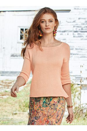 Peruvian Connection Sojourner Pima Cotton Pullover
