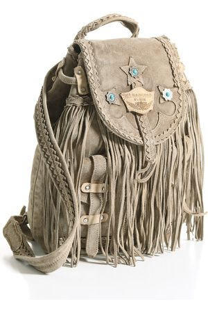 Peruvian Connection Sienna Fringe Backpack