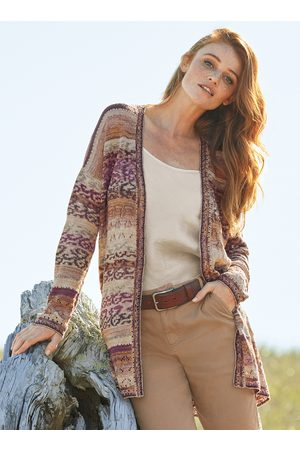 Peruvian Connection Mojave Pima Cotton Cardigan