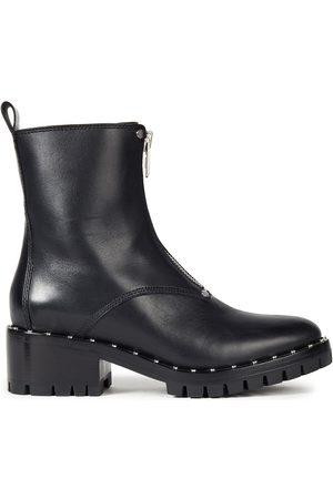 3.1 Phillip Lim Woman Hayett Studded Leather Combat Boots Size 35