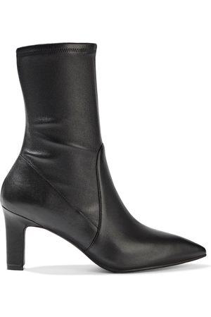 Stuart Weitzman Woman Brandie Leather Sock Boots Size 40.5