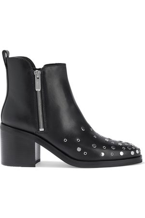 3.1 Phillip Lim Woman Alexa Embellished Leather Ankle Boots Size 38